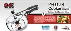 Stainless Steel Handi Shape 2.0 Ltr Pressure Cooker