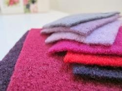 Knitted Boiled Wool Fabrics