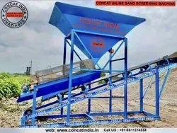 Conveyor Belt Sand Screening Machine