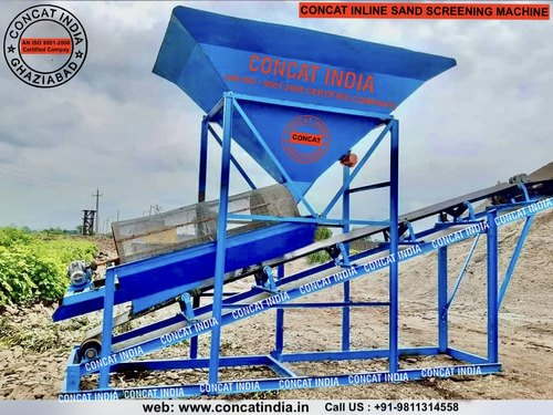 Concat Sand Screening With Conveyor Belt