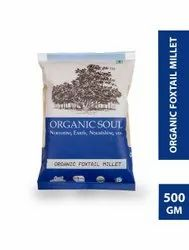 Indian Organic Foxtail Millet, Packaging Size: 500gm Packet