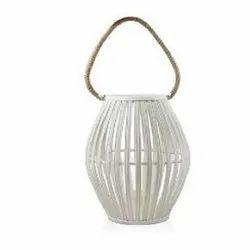 W10830C White Hanging Lantern