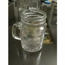 120 mL Glass Jar with Handle