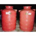 FRP Red Biodigester Tank