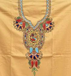 Madhubani Cotton Printed Unstitched Kurtis