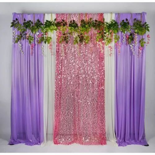 Decorative Wedding Stage Backdrop
