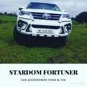 Premium Looking Safety Guard For New Fortuner