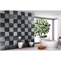 Gloss Bathroom Resin Wall Tile, Thickness: 12 mm
