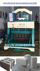 Heavy Duty Solid Block Making Machine