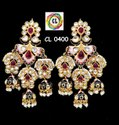 CL Jewellery Kundan Handcrafted Fine Quality Customized Traditional Earrings