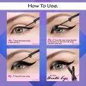 O3  Pro Artist Sketch Marker Liquid Eye Liner Deep Matte Finish Lasts Upto 24 Hours (Pack of 3)