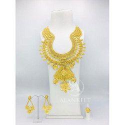 Fancy Big Necklace Set