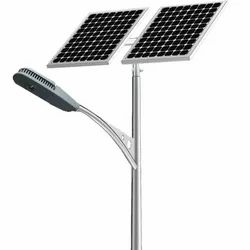 Integrated Solar Street Lighting System