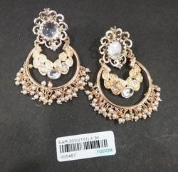 Kundan Pearl Traditional Earrings
