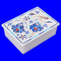 Stone Inlay Box, Marble Inlay Box