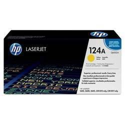 HP Q6002A 124A Yellow Laser Toner Printer Cartridge