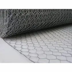 SS304 Hexagonal Wire Mesh, Thickness: 1-2 Mm (wire)