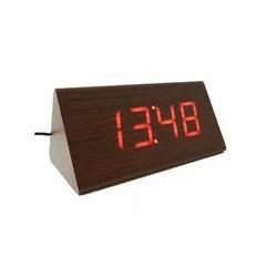 Analog Wooden Clock