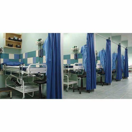 Osho Decor 100% Polyester Cubicle Hospital Curtain