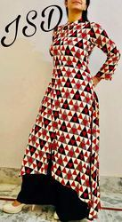 Printed Ladies Designer Kurta