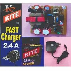 Kite 2.4 Amp Mobile Fast Charger