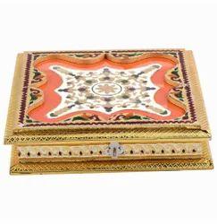 Golden Meena Dry Fruit Box 10x10