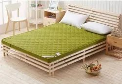 Ethica White Bamboo Double Bed, For Home, Size: 5 Ft x 7 Ft