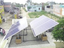 Hybrid Solar Power Plant 1-1.5KW