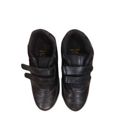 Velcro Strap School Shoes, Packaging Type: Box