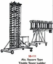Ali.Square Type Titable Tower Ladder