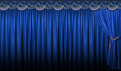Curtains Ideas blue stage curtains : Auditorium Motorized Stage Curtain - Auditorium Motorize Stage ...