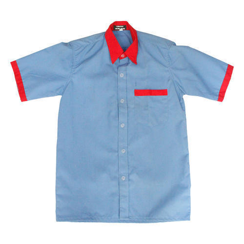Cotton Half Sleeves Housekeeping Uniform Shirt, Size: Medium And Large