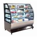 Curved Glass Cake Display Counter