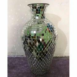 Iron Mosaic Vase