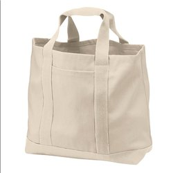 Ramesh Exports Natural Heavy Duty Cotton Canvas Bag, Capacity: 5-10 kg