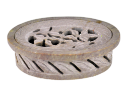 Oval Shape Soapstone Soap Dish