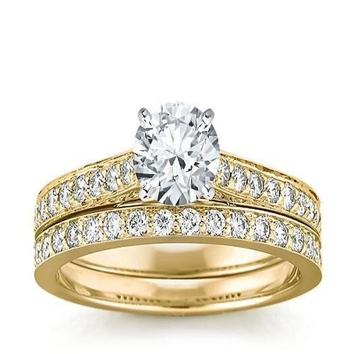 Women Diamond And Gold Rings Sone Ki Angoothi Valentine