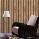 Pvc Wood Design 3d Wallpaper
