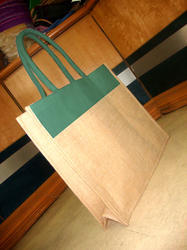 Dyed Luxury Handle Jute Bag