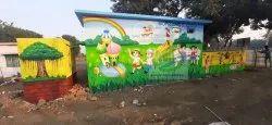 Anganwadi School Wall Painting Service