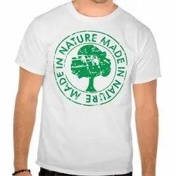 Garments Cotton Bamboo T- Shirts, Quantity Per Pack: Y