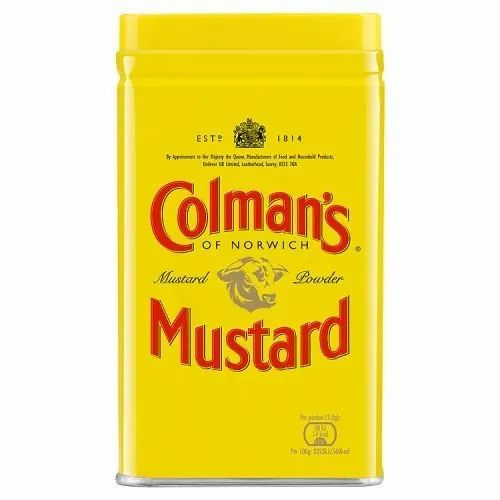 Colman' s Mustard Powder, Packaging Size: 113 g