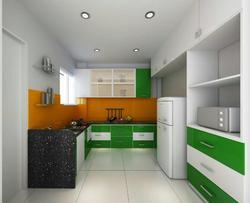 Residential MDF Modular Kitchen