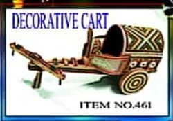 Traditional Decorative Cart