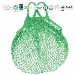 Sustainable Multi Colour String Bag