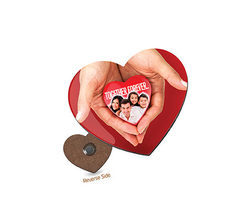 HBFM-4 Sublimatable Fridge Magnet Heart