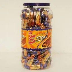 Juju 1 Year S Star Toffee, Packaging Type: Plastic Jar, Packaging Size: 250 Gram