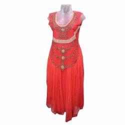 Stitched Party Ladies Designer Gown