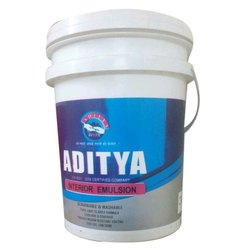 Aditya Interior Emulsion Paint, Packaging Type: Bucket