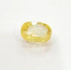 Yellow Sapphire Ceylon Stone